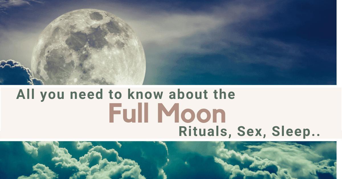 full moon rituall